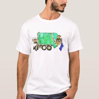 Garbage Truck Monkey T-Shirt