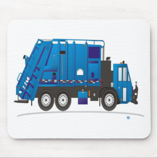 Garbage Truck Mouse Pad