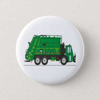 Garbage Truck Pinback Button