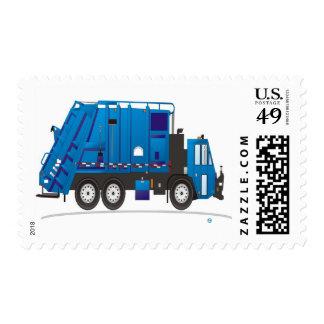 Garbage Truck Stamp