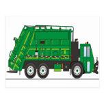 Garbage Truck Postcard