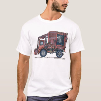 Garbage Truck Rear Loader Apparel T-Shirt