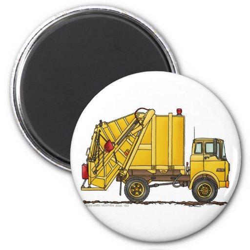 Garbage Truck Rear Loader Magnets