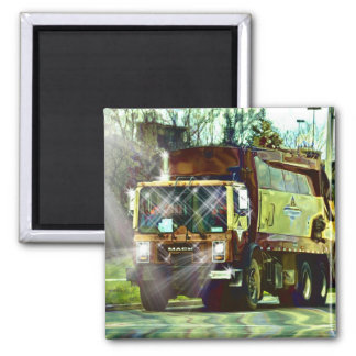GARBAGE TRUCK REFUSE TRUCK DRIVER Magnet