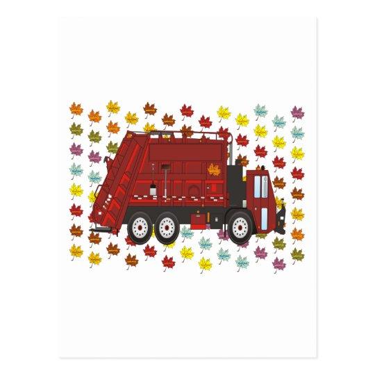 Garbage Truck September Postcard