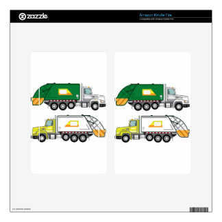 Garbage Truck Skins For Kindle Fire