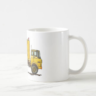 Garbage Truck Trash Collector Construction Mugs