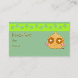 Kawaii business cards zazzle garbanzo kawaii business card colourmoves