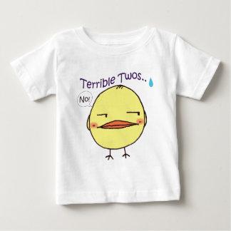 Garbanzo ~ Terrible Twos..Infant T-shirt