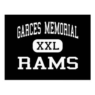 Garces Memorial - Rams - High - Bakersfield Postcard