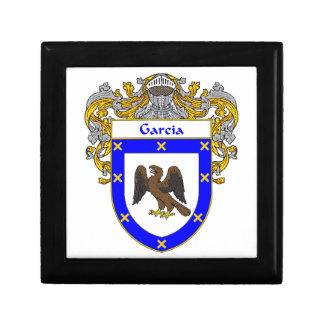 Garcia Coat of Arms/Family Crest Keepsake Box