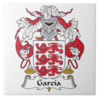 Garcia Family Crest Ceramic Tile