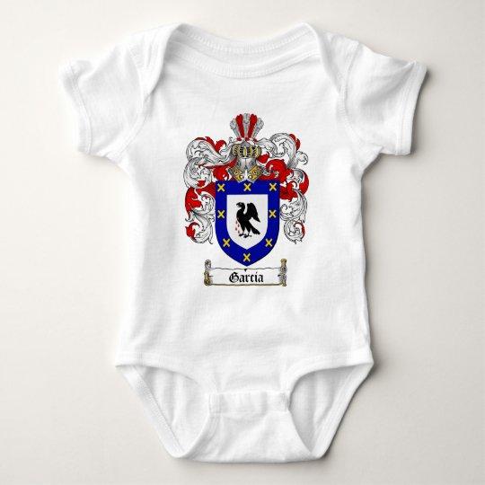 GARCIA FAMILY CREST -  GARCIA COAT OF ARMS BABY BODYSUIT