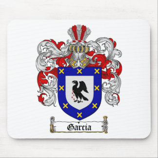 GARCIA FAMILY CREST -  GARCIA COAT OF ARMS MOUSE PAD