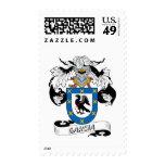 Garcia Family Crest Postage Stamp