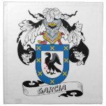 Garcia Family Crest Printed Napkins