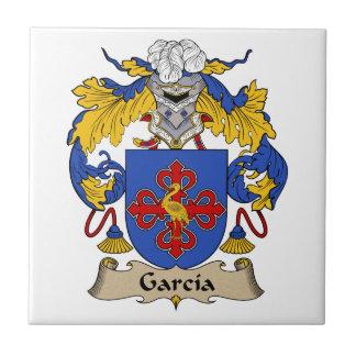 Garcia Family Crest Tile