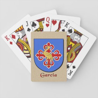 Garcia Heraldic Shield Playing Cards