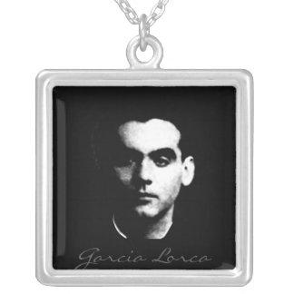 García Lorca Collar Plateado