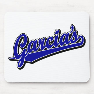 Garcia's in Blue Mouse Pad