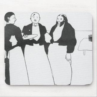 Garcons de Cafe Mouse Pad