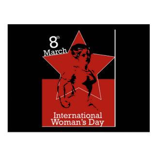 Garcya_greeting_card03 International Womens Day Postcard