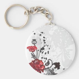 Garcya.us_Flower_Vector_3089516 Key Chain
