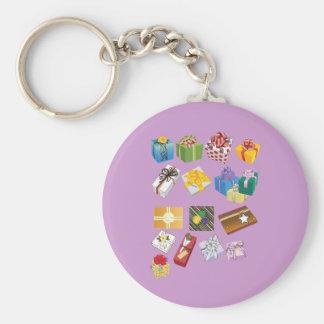 Garcya_us_giftboxes-26.ai Basic Round Button Keychain