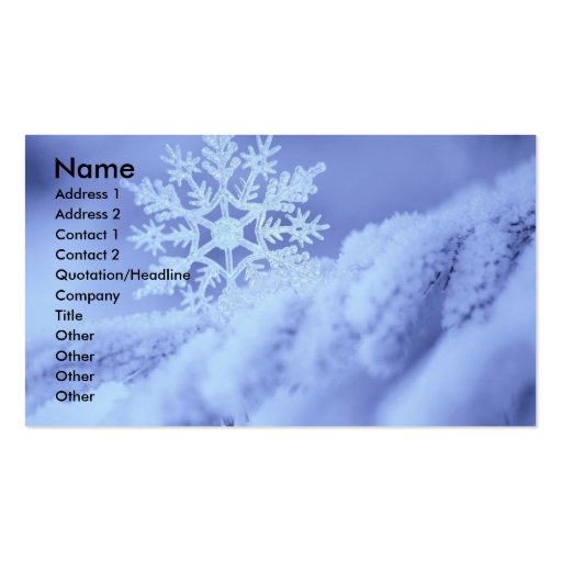 garcya.us_wallpaper071, Name, Address 1, Addres... Business Card Template