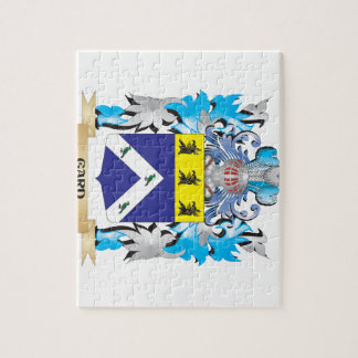 Gard Coat of Arms - Family Crest Jigsaw Puzzle