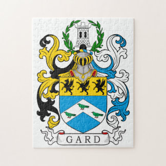 Gard Family Crest Puzzles