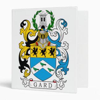 Gard Family Crest Vinyl Binder