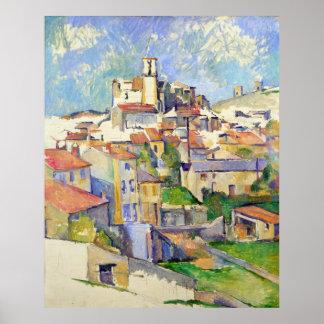 Gardanne (Aix-en-Provence) Paul Cézanne Poster