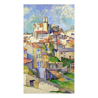 Gardanne (Aix-en-Provence) Paul Cézanne Tarjetas De Visita
