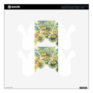 Gardanne by Paul Cezanne Decal For PS3 Controller