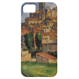 Gardanne (Horizontal View) by Paul Cezanne iPhone SE/5/5s Case