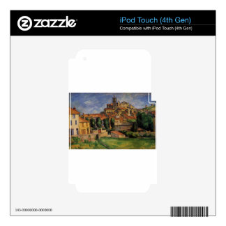 Gardanne (Horizontal View) by Paul Cezanne iPod Touch 4G Decal