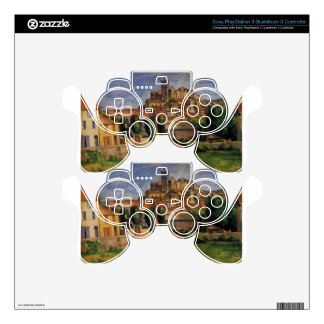 Gardanne (Horizontal View) by Paul Cezanne PS3 Controller Skins