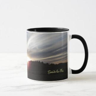 Garde la Foi, Keep Faith Mug