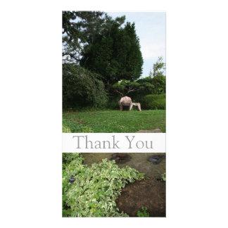 Garden 4 Armchair Thank You Photo Card 1
