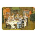 "Garden Afternoon High Tea Women Ladies Invitation 3.5"" X 5"" Invitation Card"