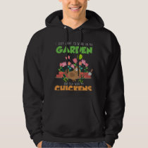 Garden and Chicken Lover Farm Gardening Hoodie