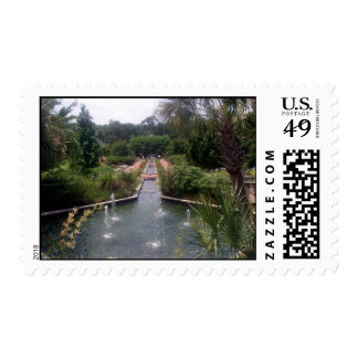 Garden and Fountain Postage