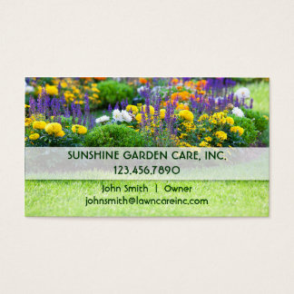 Garden and Landscape Business Card
