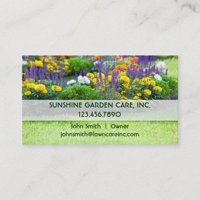 Garden and Landscape Business Card