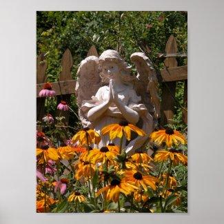 Garden Angel 2 print