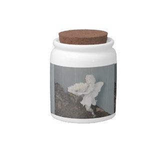 Garden Angel Candy Jar