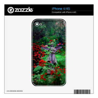 Garden Angel iPhone 4 Decal