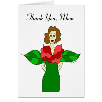 Garden Angel Mother's Day Card