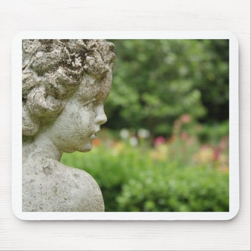 Garden Angel Mouse Pad